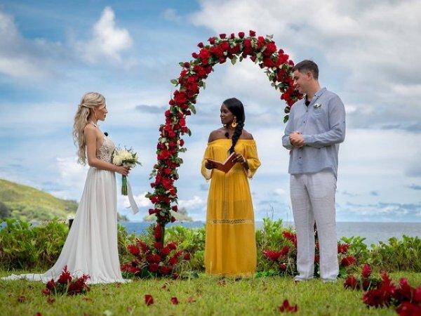 Первые фотографии со свадьбы Райсон и Шабарина