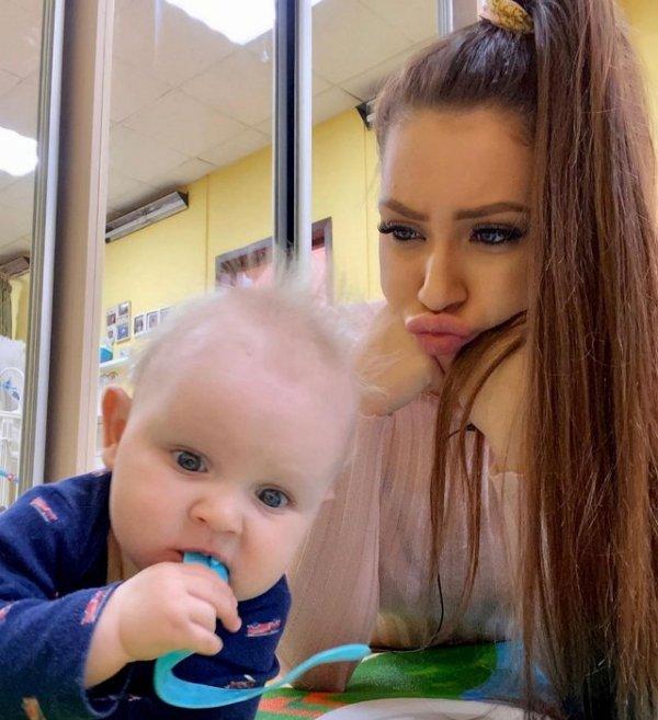 Алёна Савкина поведала об успехах своего сына