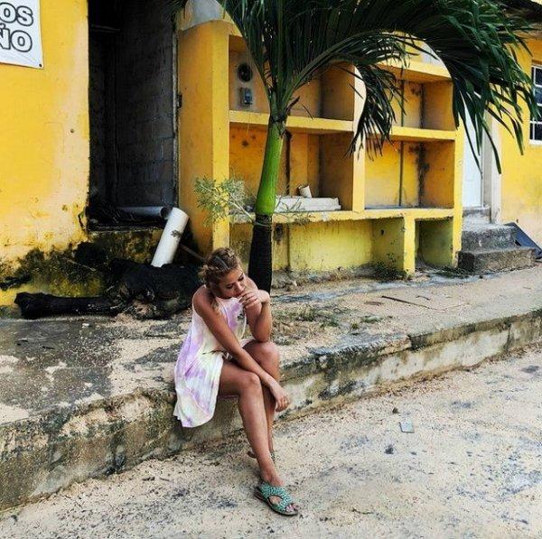Мария Кохно не может покинуть Мексику