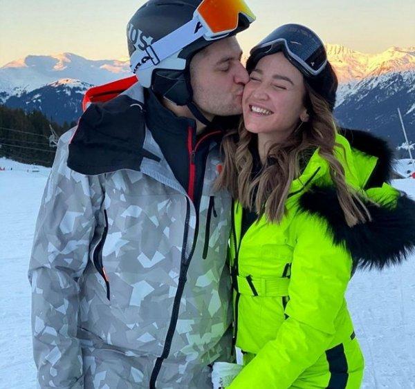 Ольга Бузова наслаждается новогодними каникулами