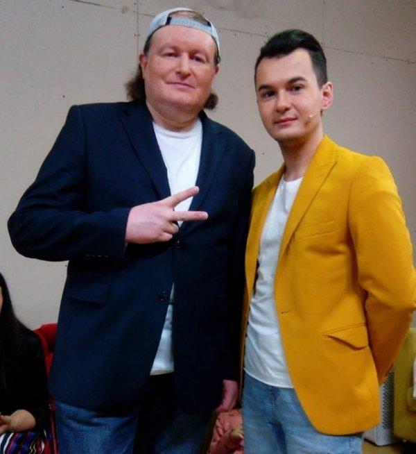 Николай Должанский поздравил Антона Беккужева